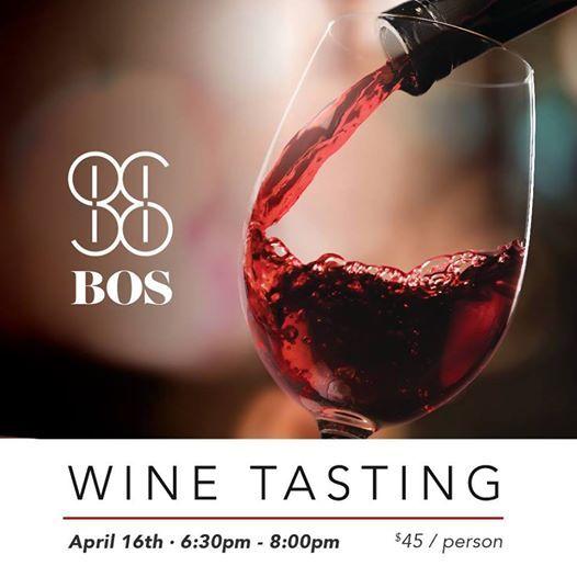 BOS Wine Tasting Event