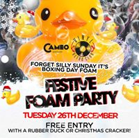 Boxing Day Foam Party