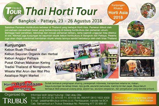 Thai Horti Tour at Pattaya