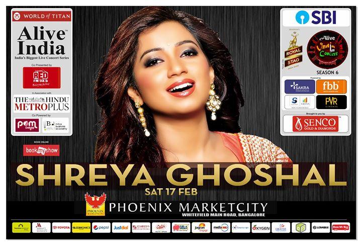 Alive India in Concert Season 6 Shreya Ghoshal Live