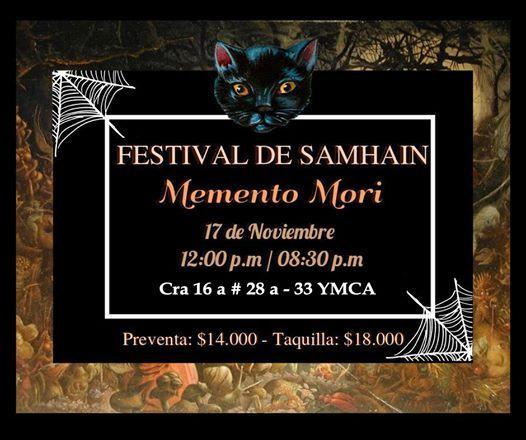 Festival De Samhain 2018 MementoMori