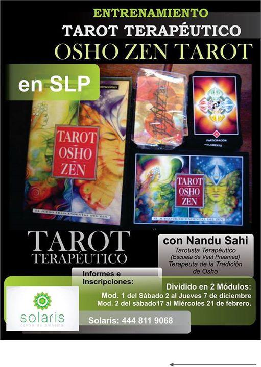 Entrenamiento Tarot Terapéutico Osho At Solaris Yoga Center