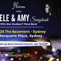 Bloom sings The Adele &amp Amy Songbook - The Basement
