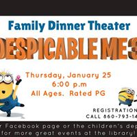 Family Dinner Theater - &quotDespicable Me 3&quot