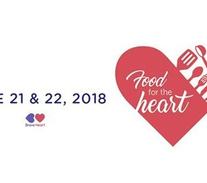 Food for the Heart  In Support of the Brave Heart Fund
