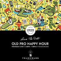 Trademark Beer Pairing Event  Old Pro Happy Hour