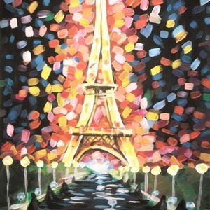 ArtNight Eiffelturm Paris am 25062019 in Mannheim