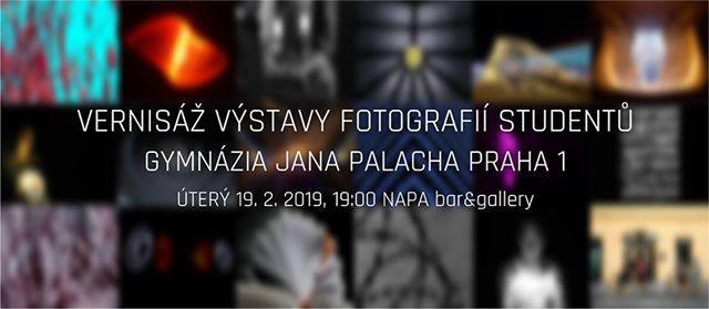 Vernis vstavy fotografi student GJP