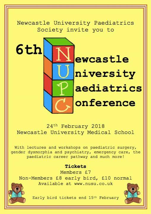 Newcastle University Paediatrics Conference | Newcastle upon