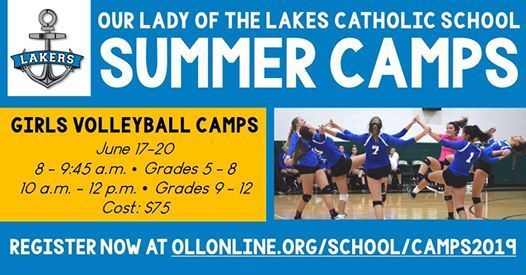 OLL Summer Camps Girls Volleyball
