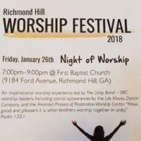 Richmond HIll Worship Festival