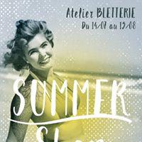 Summer Shop Atelier Bletterie