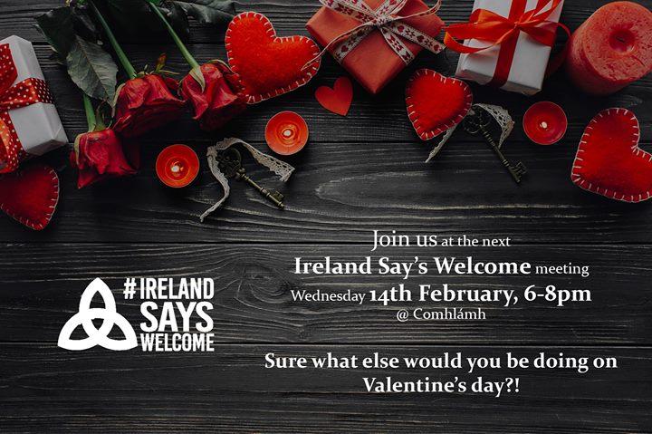 Ireland Says Welcome Meeting