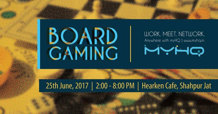 MyHQ Board Gaming Event