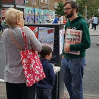 Campaigning stall