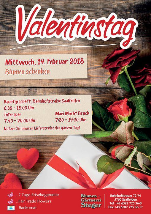 Valentinstag At Blumen Gartnerei Steger Zell Am See