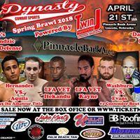 Dynasty Combat Sports Spring Brawl 2018