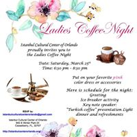 Ladies Coffee Night_March 2017