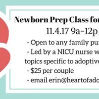 Newborn Prep for Adoptive Parents