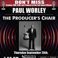 Paul Worley on The Producers Chair - Live Episode Taping