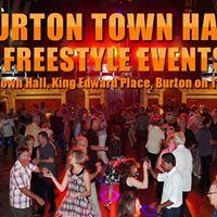 Burton Town Hall Freestyle - Fri 24 Nov