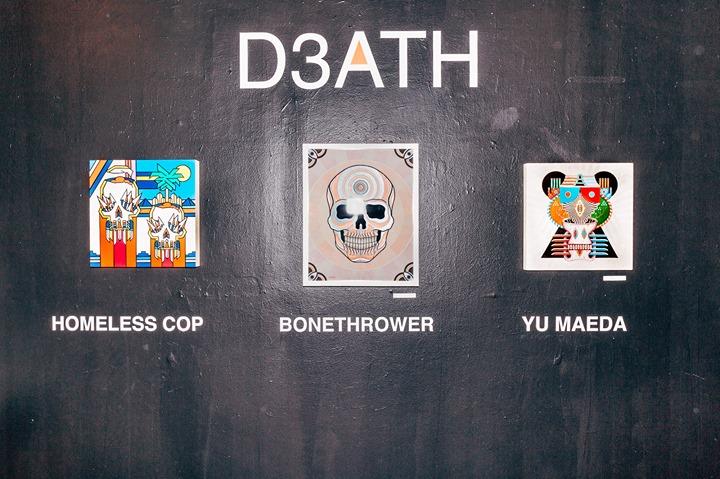 D3ATH Closing Party & Bonethrower x Superchief L.A shirt release