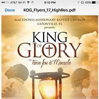 King of Glory Christmas Concert - Gospel Artist Beverly Crawford