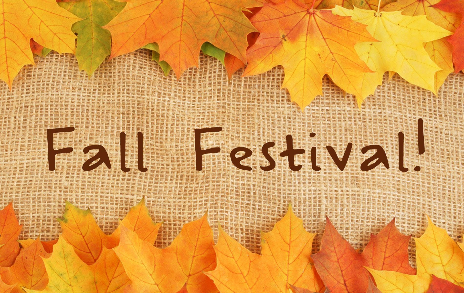 Fall Festival Craft & Vendor Fair