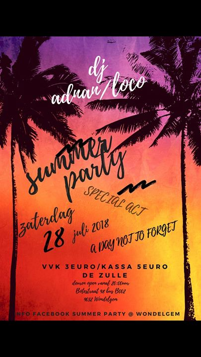 SUMMER PARTY WONDELGEM