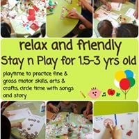 Stay-and-Play for 1.5 - 3 years old