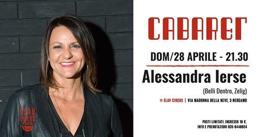 Cabaret al Circus  Alessandra Ierse