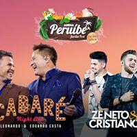 Cabar com Leonardo &amp Eduardo Costa Z Neto e Cristiano na Arena Perube