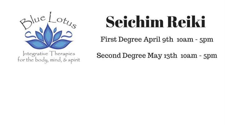 Seichim Reiki Second Degree At Blue Lotus Integrative Therapies