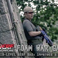 Nerf Sing. Foam War Game - Nov17