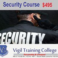 Security Course - Parramatta