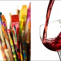 Paint wine party at 4928 manning rd indianapolis in for Wine and paint indianapolis