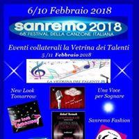 Sanremo 2018.Eventi La Vetrina dei Talenti