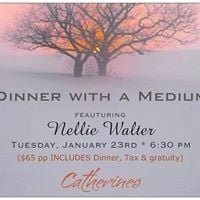 January BOOKED DINNER WITH A MEDIUM February date coming soon