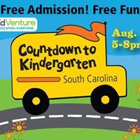 Countdown to Kindergarten at EdVenture