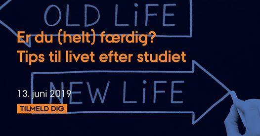 Er du (helt) frdig - tips til livet efter studiet