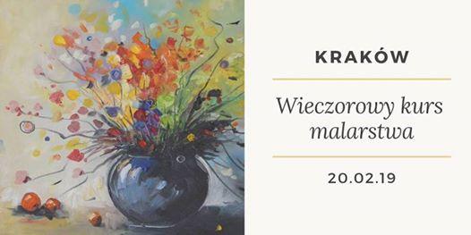 Wieczorowy kurs malarstwa w Krakowie