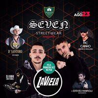 Festa da SEVEN com La Viela  MC Cainho no PUB