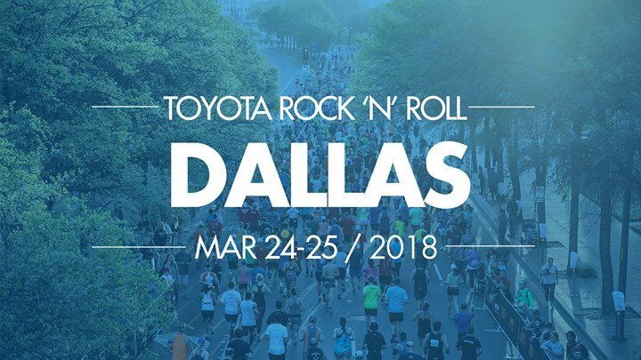 Toyota Rock n Roll Dallas Half Marathon
