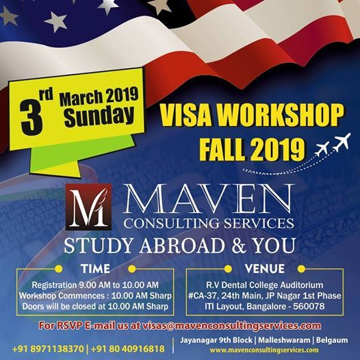 Visa Workshop Fall 2019