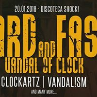 Bus da Rivarolo e Chivasso per Hard &amp Fast  Vandal of Clock