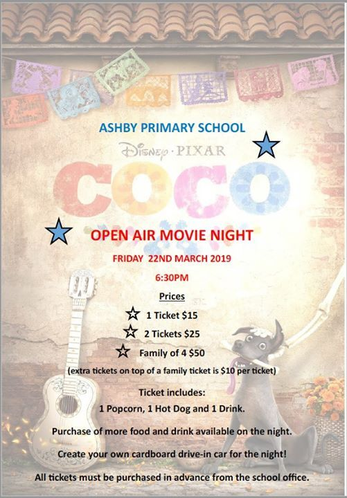 Ashby Open Air Movie Night