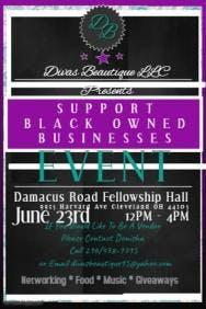 Support Black Owned Businesses Event