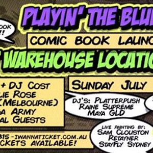 P.Smurf Comic Book Launch