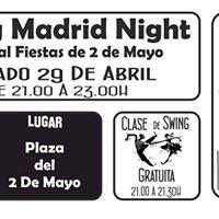 Swing Madrid Night. Fiestas del 2 de Mayo Clase de Swing Gratis
