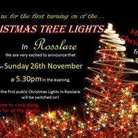 Turning on of the Christmas Tree Lights in Rosslare